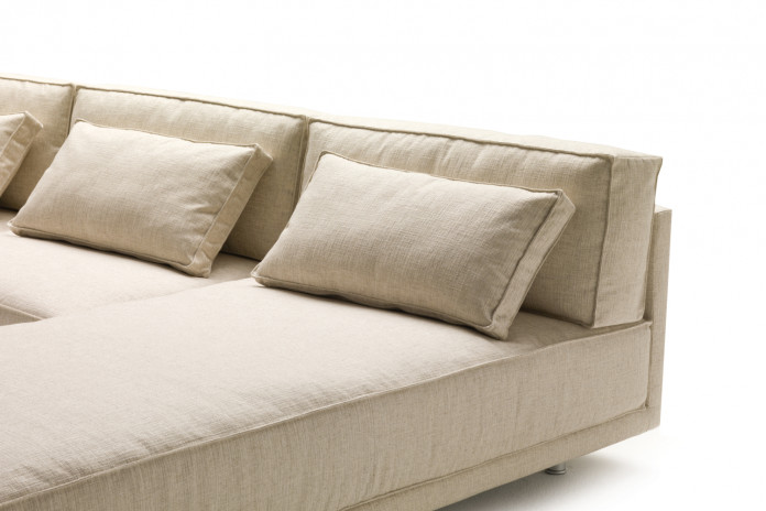 Rectangular feather filled scatter cushions for Dennis sofas