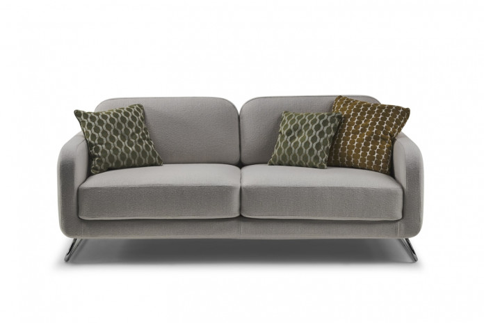 Contemporary ski leg 2 or 3 seater sofa bed