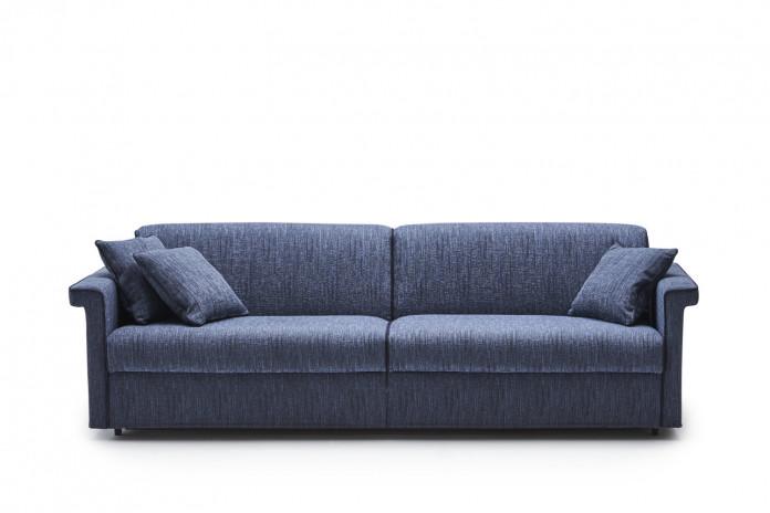 Contemporary key arm 3-seater sofa