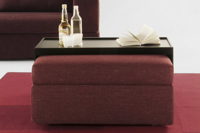 3-in-1 coffee table footstool and storage combo