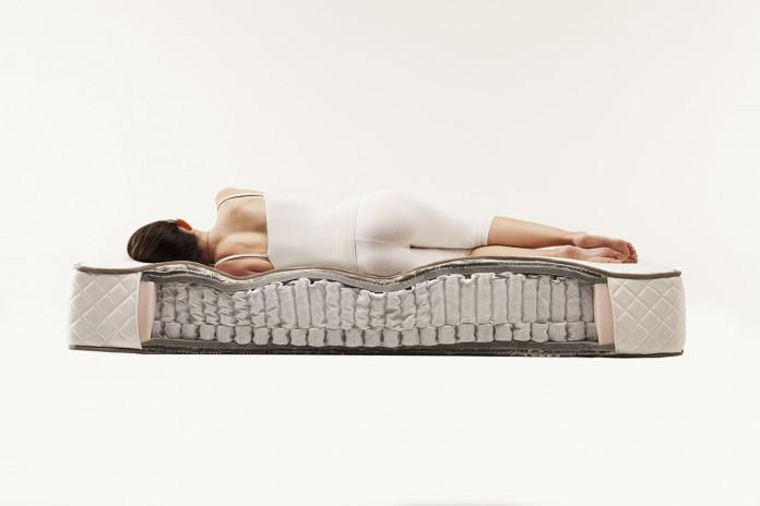 33 cm thick luxury pocket sprung memory foam mattress