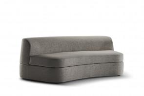 Curved modular sofa 161, 206, 226 or 246 cm wide