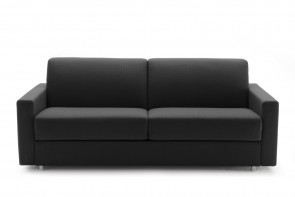 Simple 2-3 seater sofa bed with a choice of arms