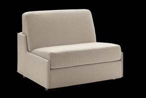Duke armchair bed with no armrests