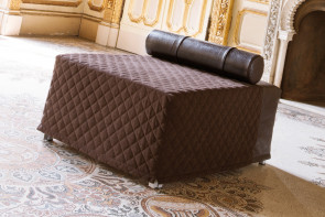 Footstool with pull out bed single, double or king size