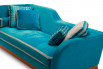 Detail of the tape trimmed seat cushion
