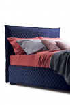 Diamond quilted headboard and frame