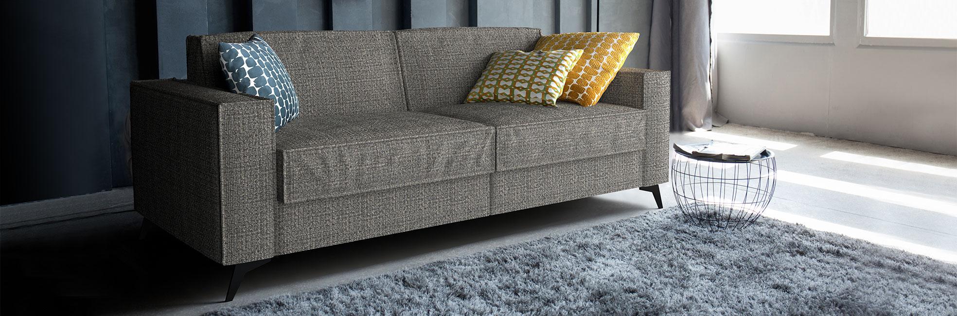 Modern metal leg sofa bed Mingus